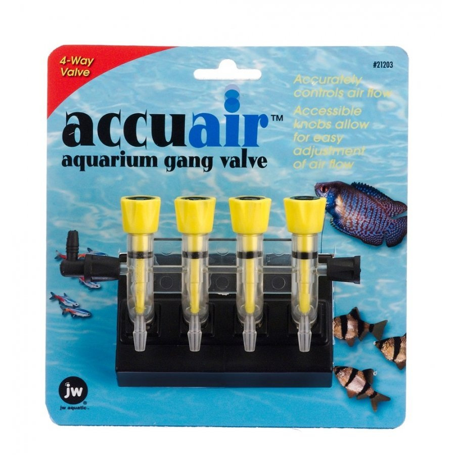 Accuair Gang Valve For Aquariums / Size 4 Way