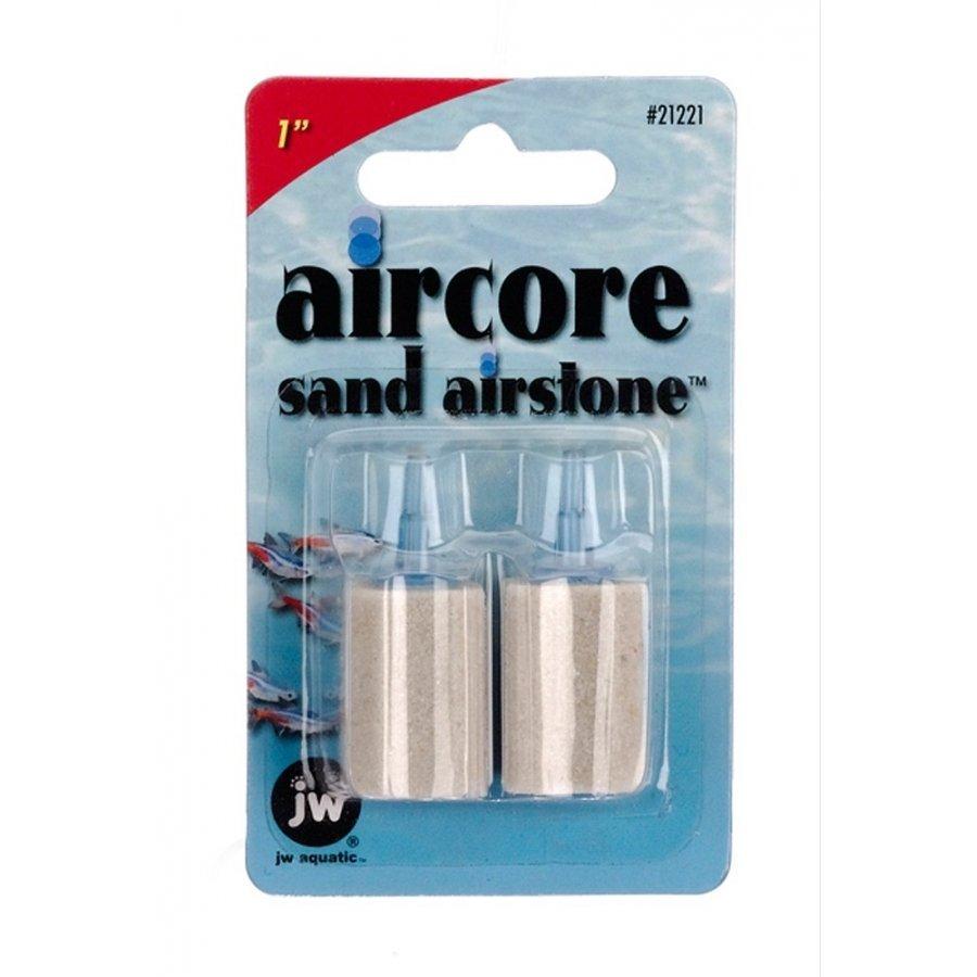 Aircore Aquarium Sand Airstones / Size 2 Pk / 1 In.