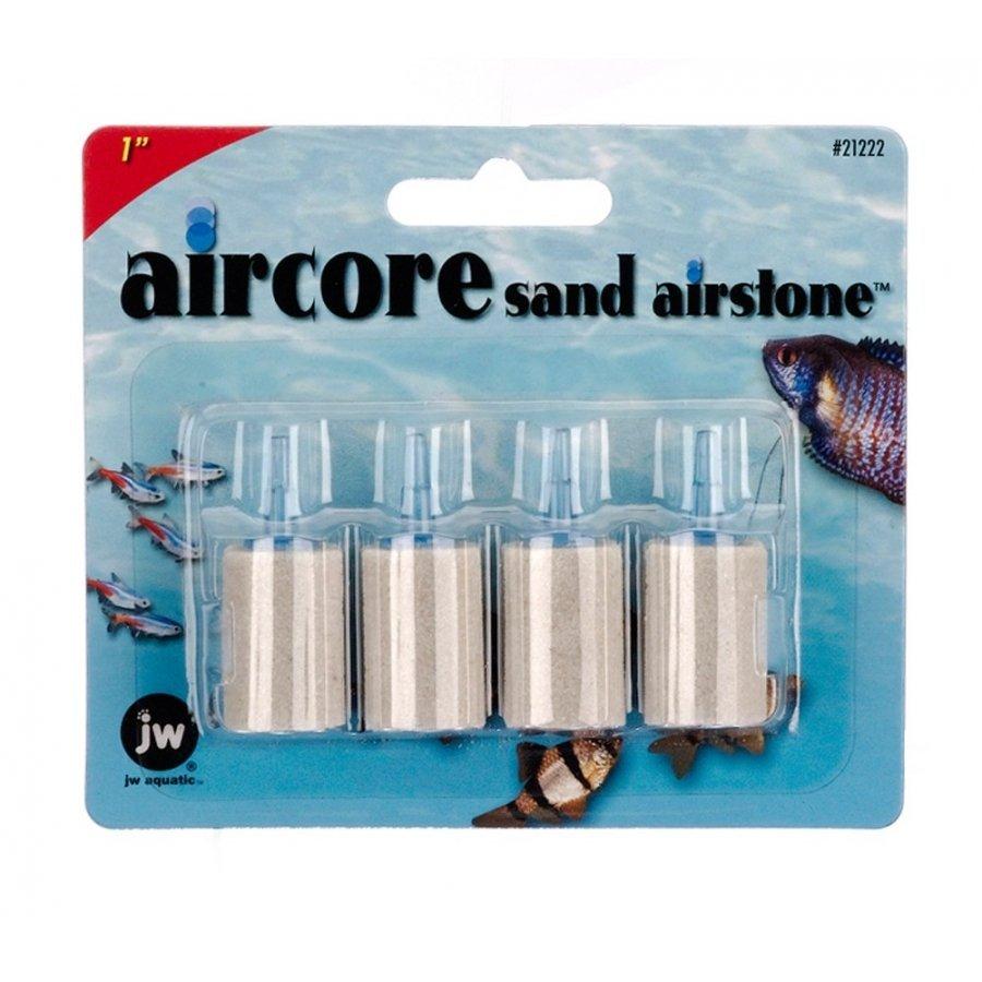 Aircore Aquarium Sand Airstones / Size 4 Pk / 1 In.