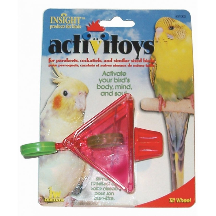 Activitoys Tilt Wheel Bird Toy 3 In.