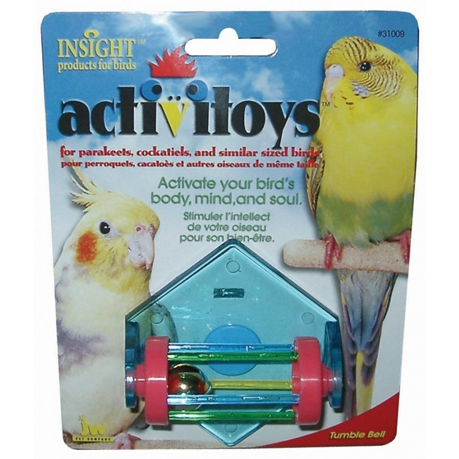 Tumble Bell Bird Toy For Parakeets And Cockatiels