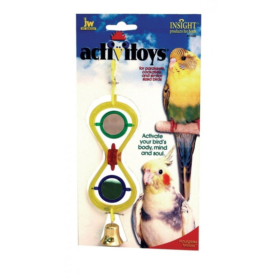 Activitoys Hour Glass Bird Toy