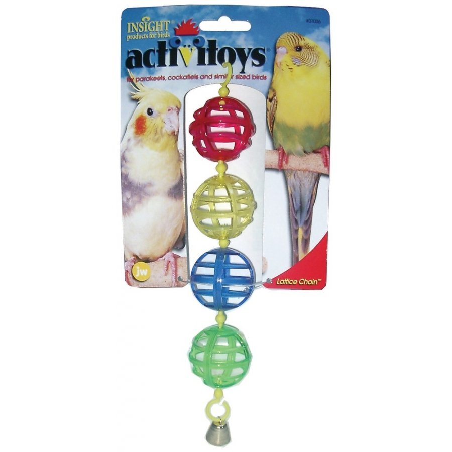 Lattice Chain Bird Toy