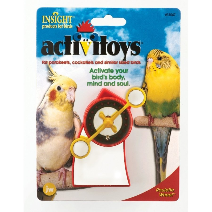 Activitoys Roulette Wheel For Birds