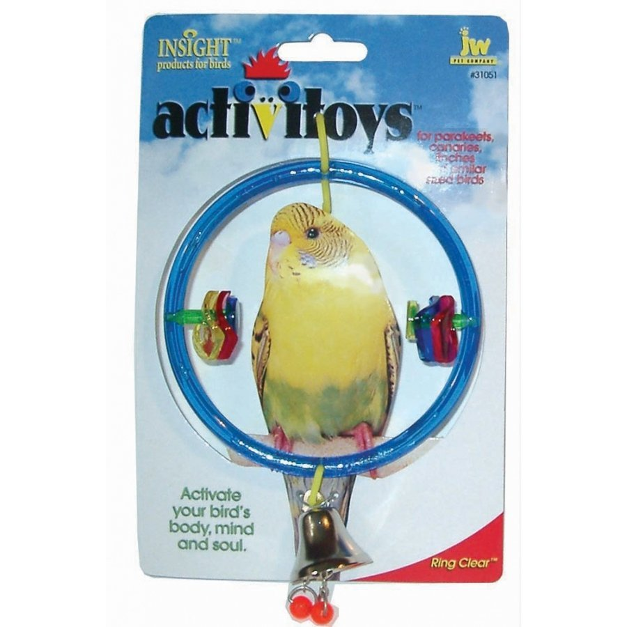 Insight Activitoys Clear Ring For Pet Birds