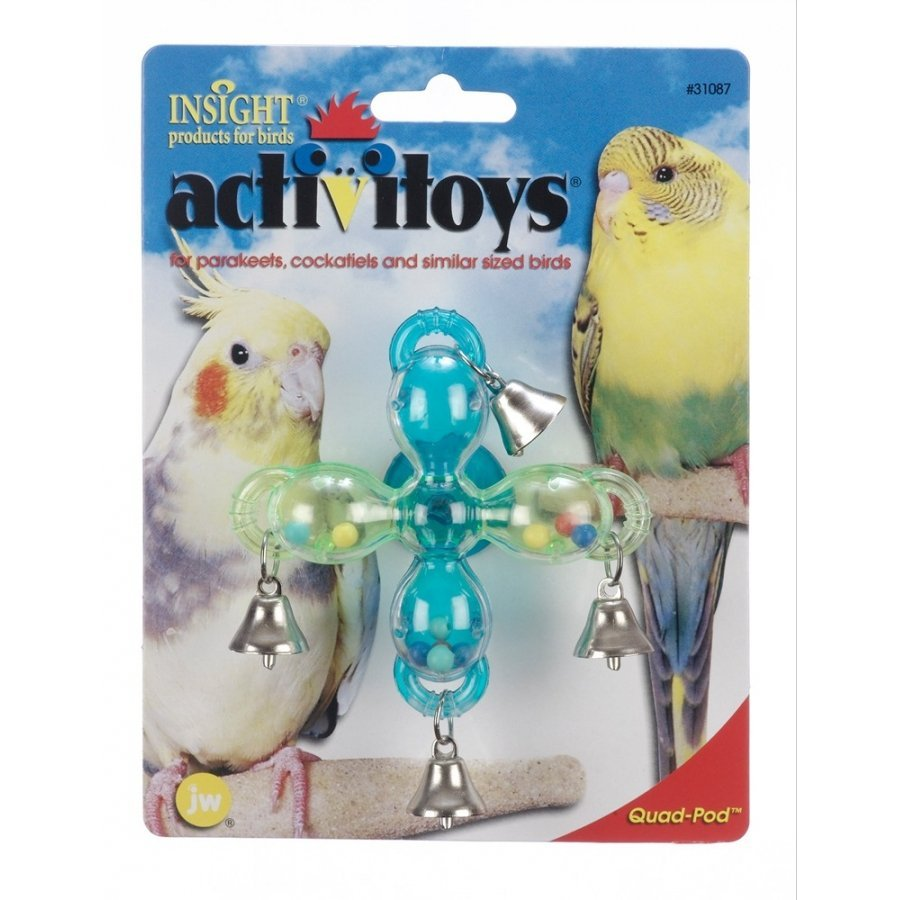 Activitoy Quad Pod Bird Toy