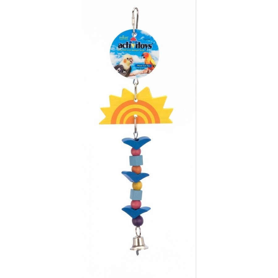 Single Sun Toy Dangling Bird Toy Small