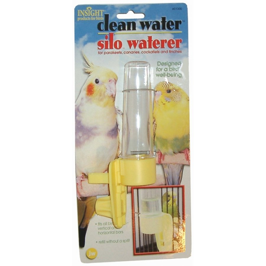 Clean Water Silo Bird Waterers / Size Regular