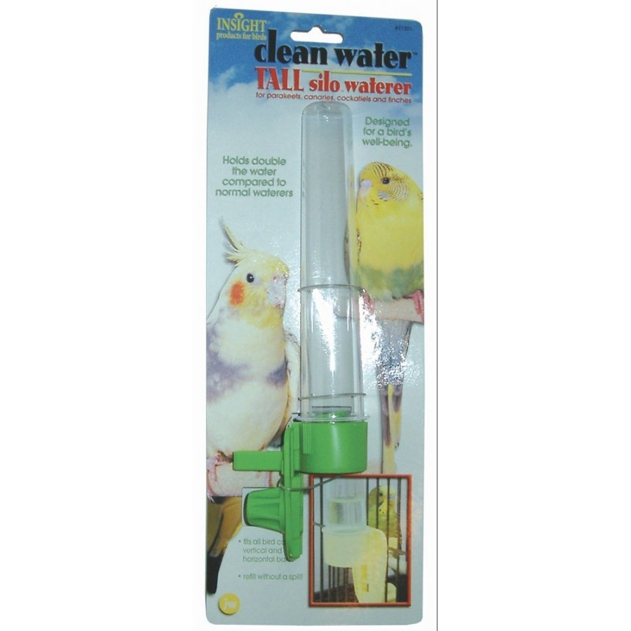 Clean Water Silo Bird Waterers / Size Tall