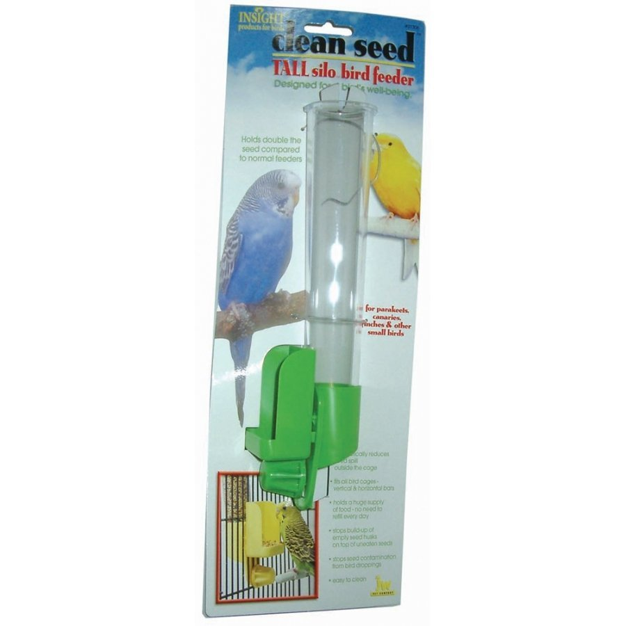 Clean Seed Silo Bird Feeder / Size Tall
