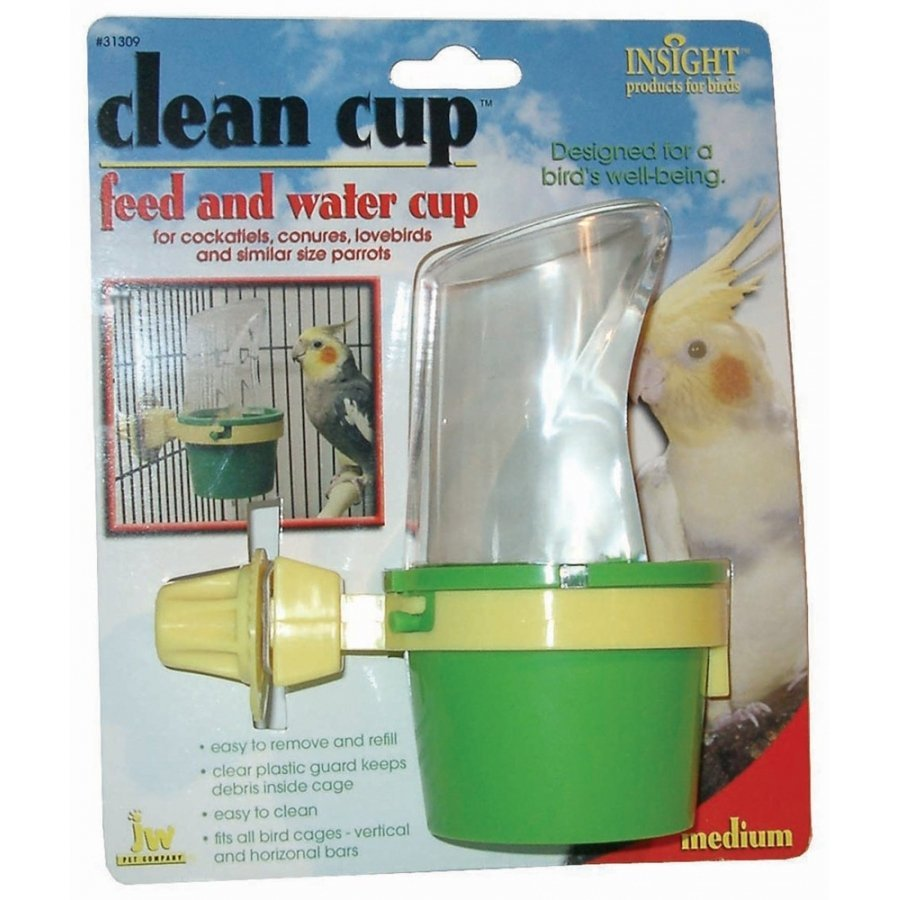 Clean Cup Food And Water Cup For Birds / Size Medium
