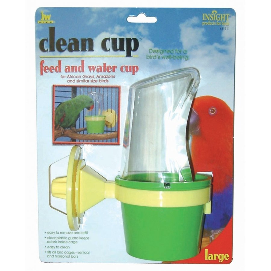 Clean Cup Food And Water Cup For Birds / Size Large