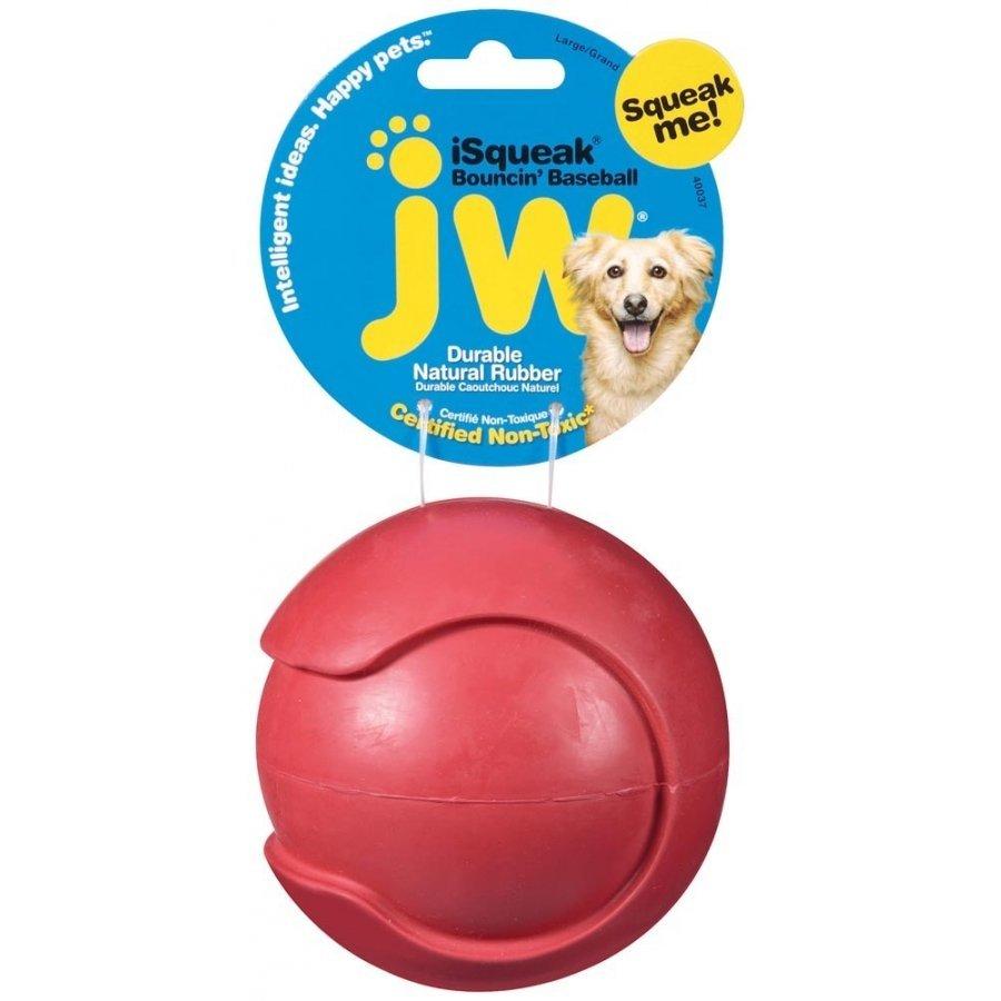Isqueak Dog Toy / Size Large Baseball