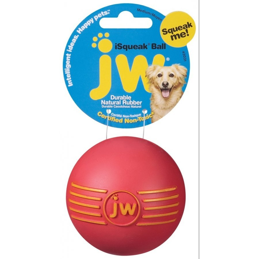 Isqueak Dog Toy / Size Medium Ball
