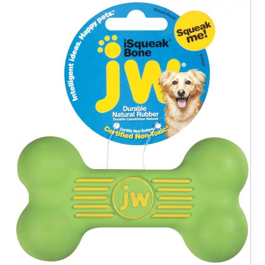 Isqueak Dog Toy / Size Small Bone