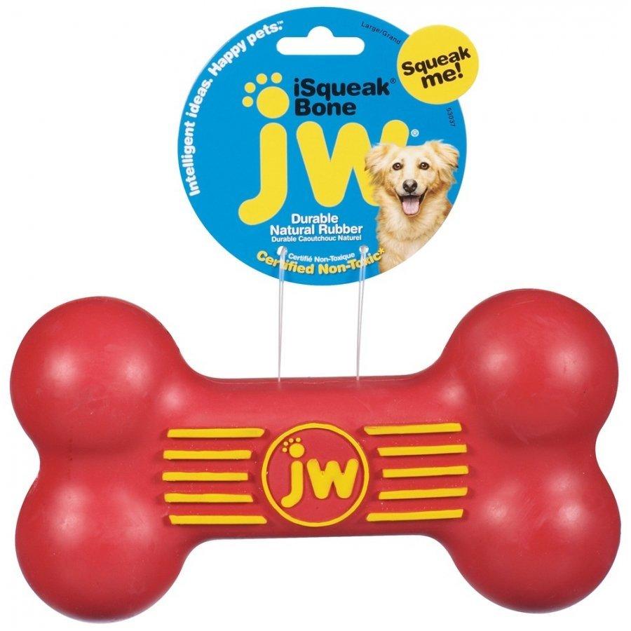 Isqueak Dog Toy / Size Large Bone