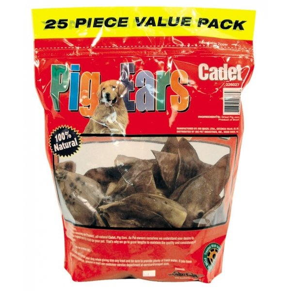 Oven Roasted Pig Ears 25 Pack