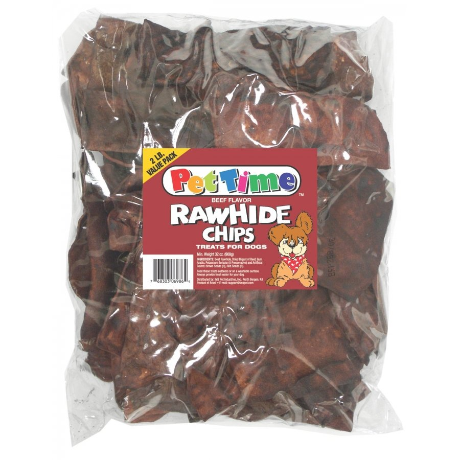 Rawhide Chips For Dogs 2 Lbs