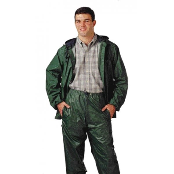 Storm-Champ 2 Pc. Waterproof Suit / Size (Medium / Green) Best Price