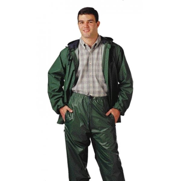 Storm-Champ 2 Pc. Waterproof Suit / Size (Small / Green) Best Price