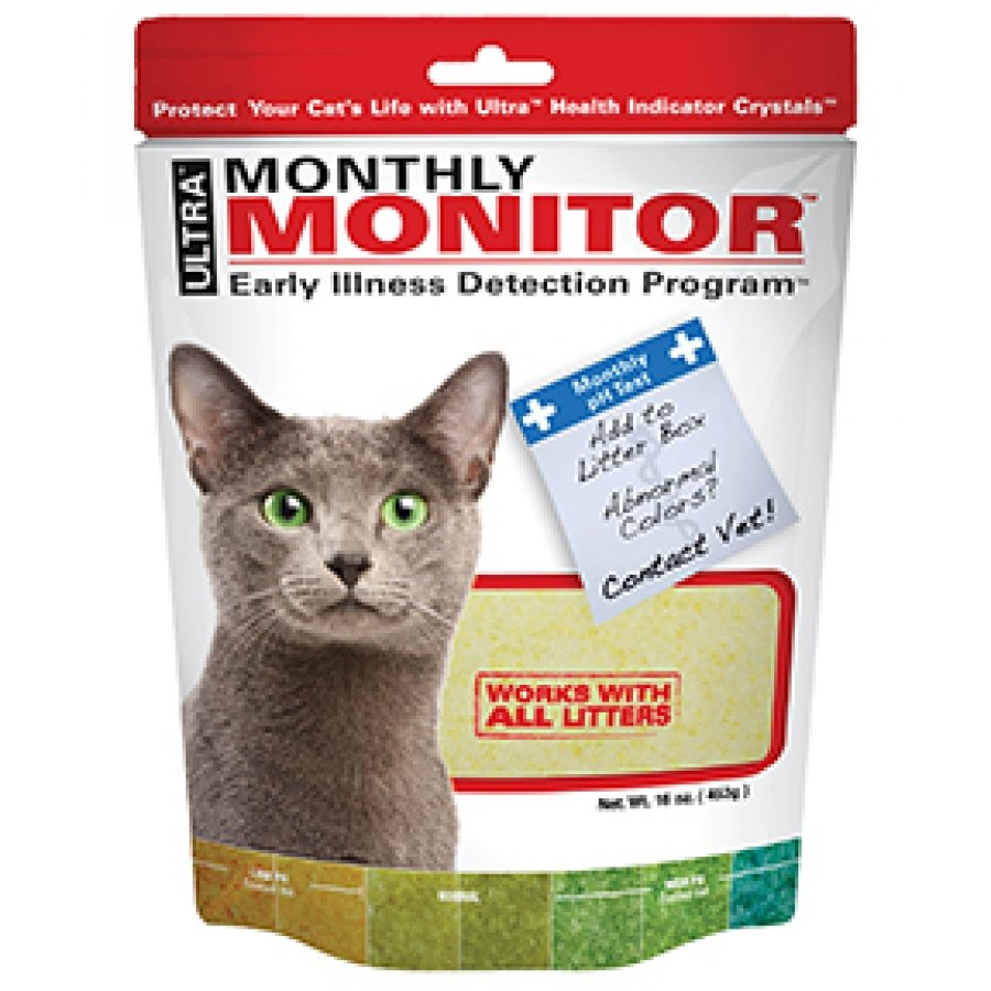 Ultra Monthly Monitor For Cats 16 Oz.