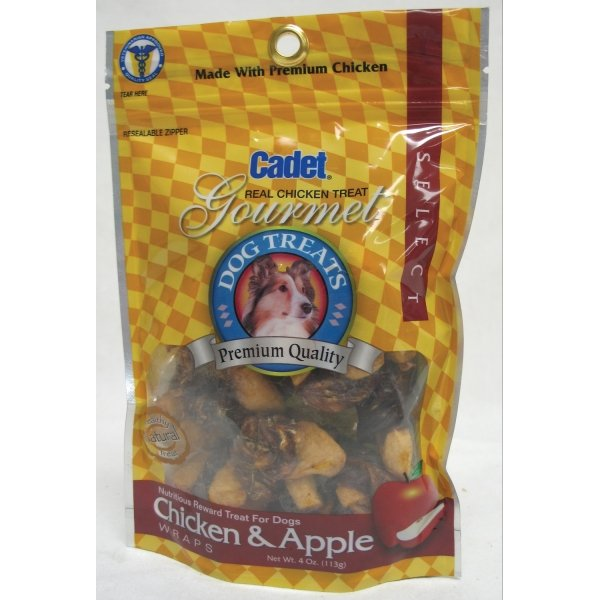 Cadet Premium Dog Treats / Size (4 oz / Chicken and Apple) Best Price