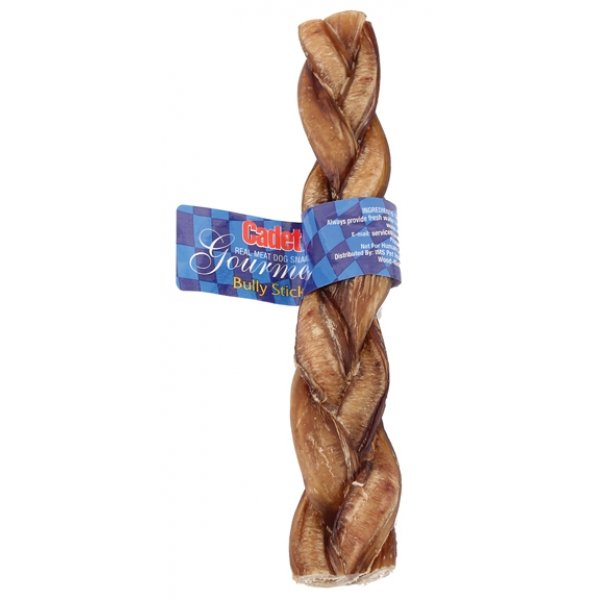 Cadet Gourmet Braided Bull Stick 9 in. (Case of 35) Best Price