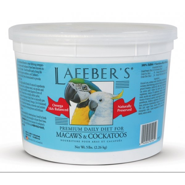 Macaw Premium Pellets / Size 5 Lbs.