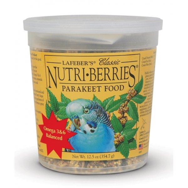 Nutri Berries Bird Food / Type Keet / 12.5 Ounces