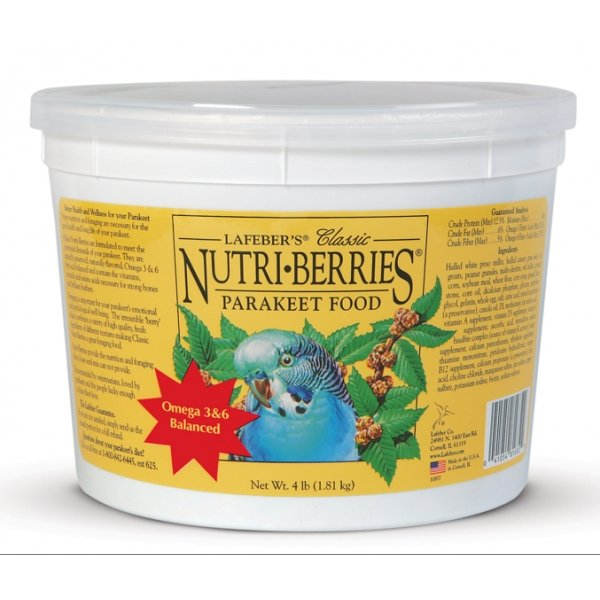 Nutri-berries Bird Food / Type (Keet / 4 lbs.) Best Price