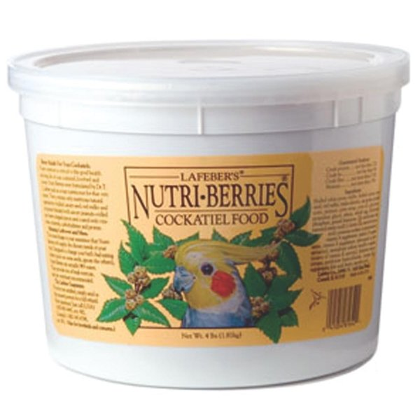 Nutri Berries Bird Food / Type Tiel / 4 Lbs