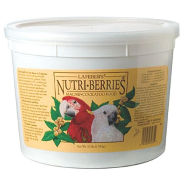 Nutri Berries Bird Food / Type Macaw / 3.5 Lbs
