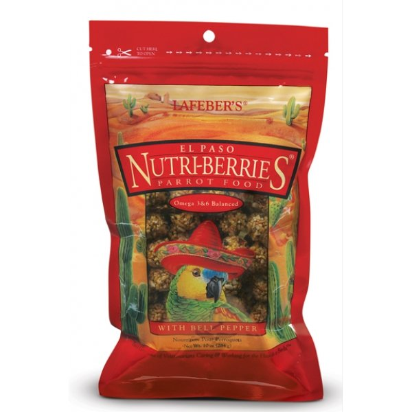 El Paso Nutri Berries For Parrots 10 Oz.