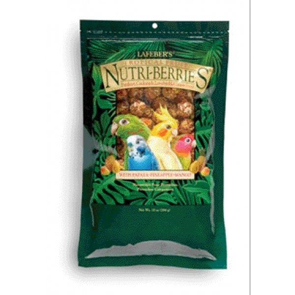 Nutri Berries Tropical Fruit / Size 10 Oz/small Nuggets
