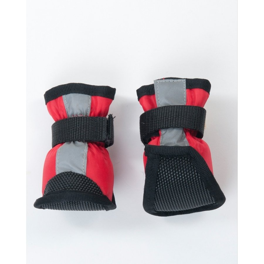 Essential Dog Boots / Size Small Red