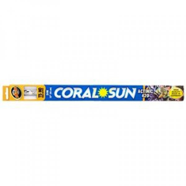 Coral Sun Actinic 420 T5-HO / Size (34 in.) Best Price