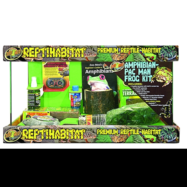 Zoo Med Reptihabitat Amphibian / Man Frog Kit - 10 gal. Best Price