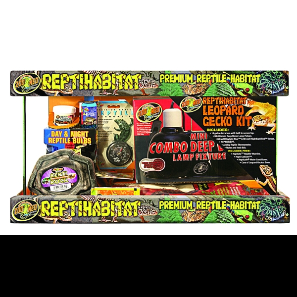 Zoo Med Reptihabitat Leopard Gecko Kit - 10 GALLON Best Price