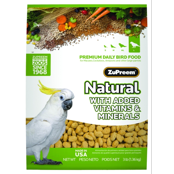 Zupreem Natural Large / Size (3 lbs) Best Price