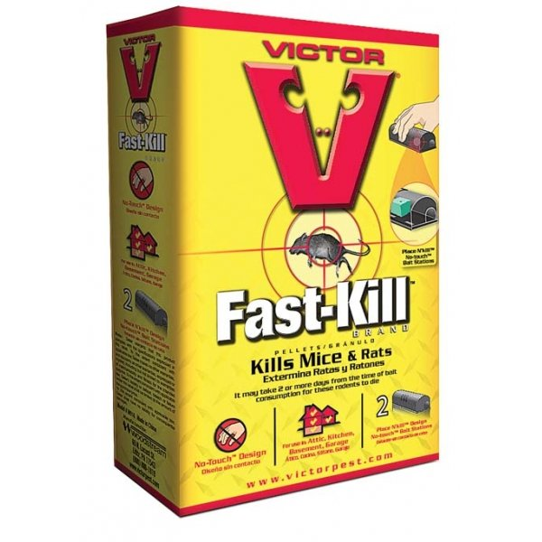 Victor Fast-kill Disposable Bait Station - 2 pk Best Price