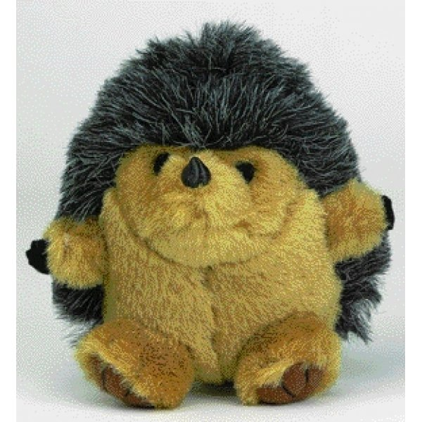 Booda Squatter Dog Toy / Style (Hedgehog - Medium) Best Price