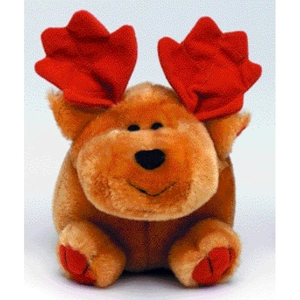 Booda Squatter Dog Toy / Style (Moose - Large) Best Price