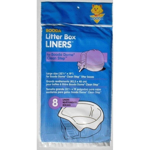 Booda Dome Clean Step Liner 8pk Best Price