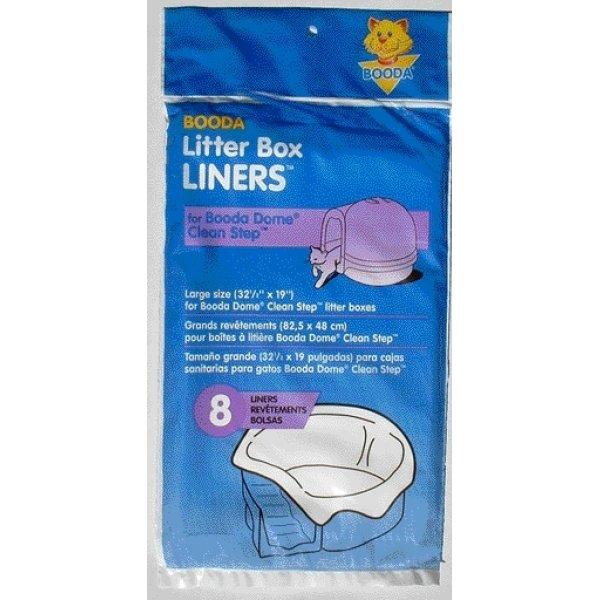 Booda Dome Clean Step Liner 8pk