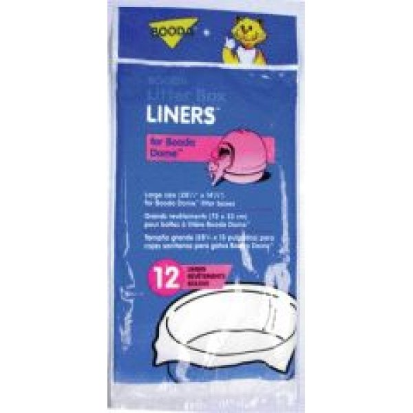 Booda Dome Litter Liners 12 pk. Best Price