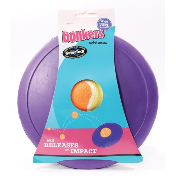 Booda Bonkers Whizzer Dog Toy - Assorted Best Price