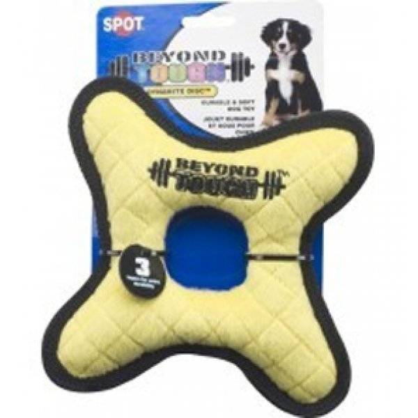 Beyond Tough Dynamite Disc 7 in. Dog Toy Best Price