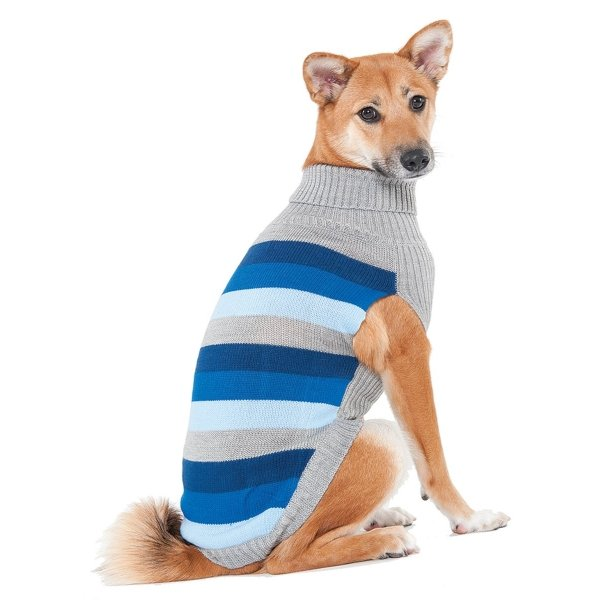 Best In Stripe Dog Sweater / Size (XSmall / Blue) Best Price