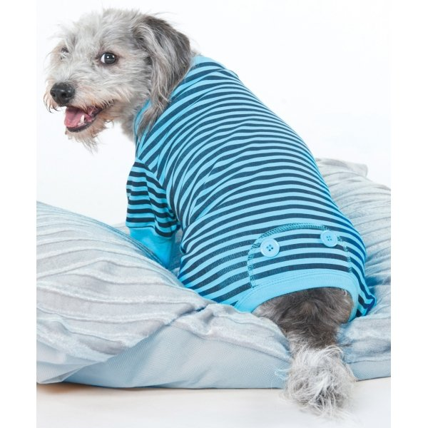 Striped Dog Pajamas / Size (XXSmall / Blue) Best Price