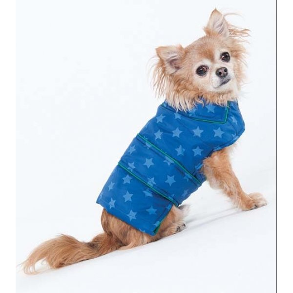 Blue Star Puffy Blanket Coat / Size (XSmall / Blue) Best Price